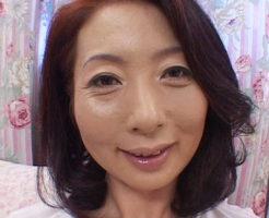 野宮凛子 顔は上品 でもアソコはスケベな美人五十路熟女
